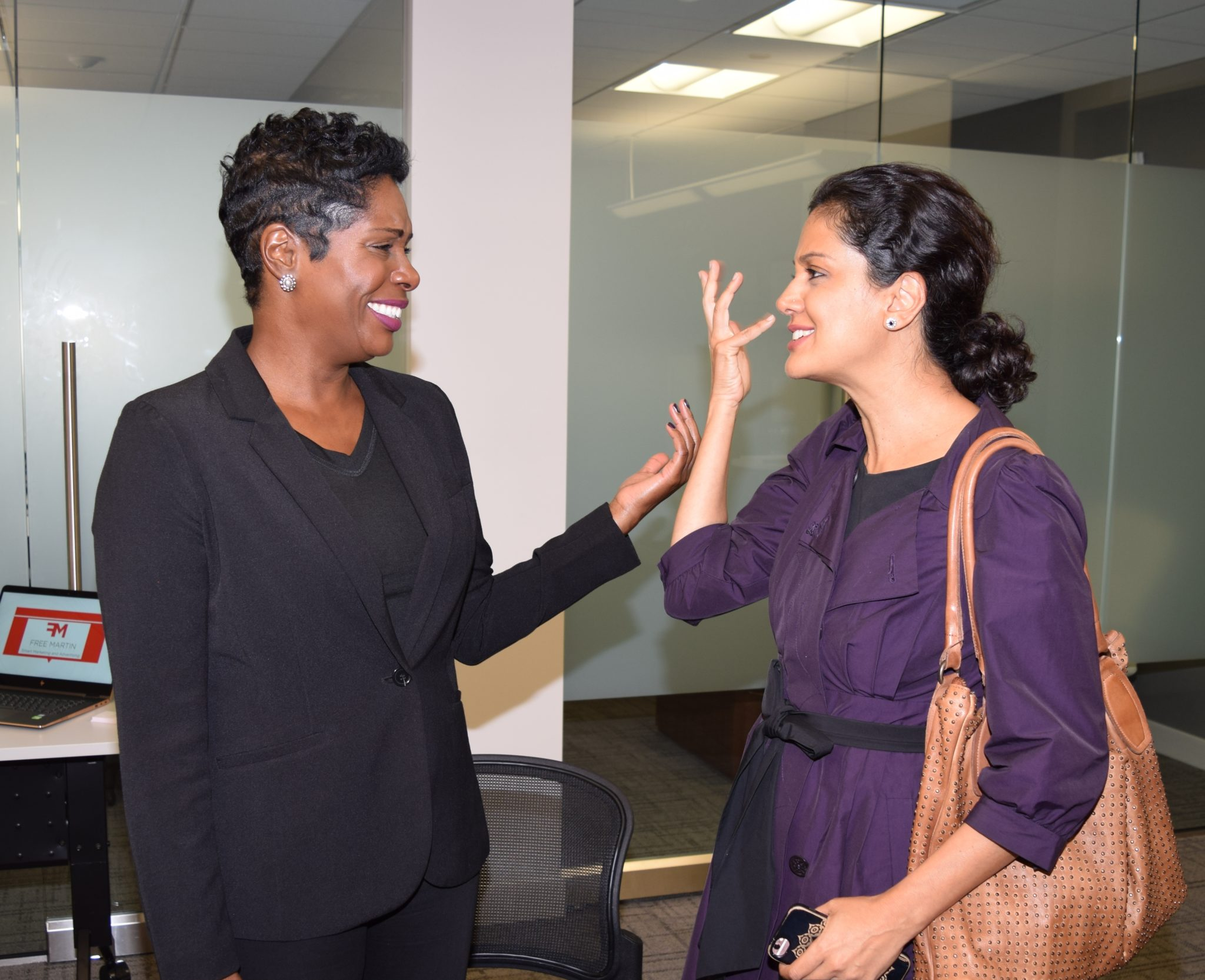 Marketing Event Pic with Farahana